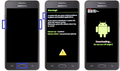 Cara Pasang CWM Recovery Pada Samsung Galaxy Prime SM-G530H