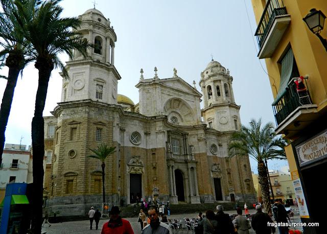Praça da Catedral, Cádiz, Andaluzia