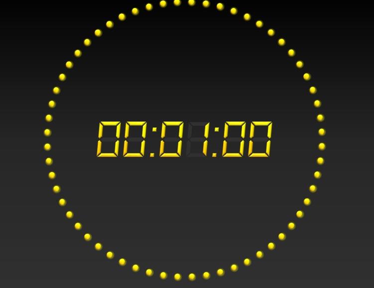 Windows Desktop Countdown Clock