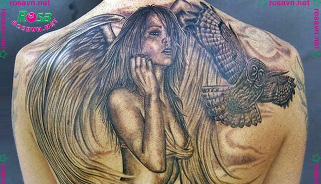 Địa chỉ xăm hình nghệ thuật tattoo