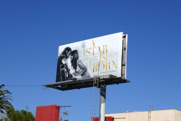 A Star is Born movie billboard