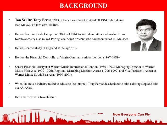 Tony Fernandes Leadership In Organization