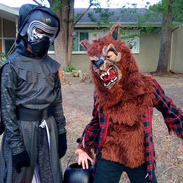 kids werewolf costume and kylo ren kids costume
