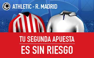 sportium Segunda apuesta es Sin Riesgo Athletic vs Real Madrid 15 septiembre