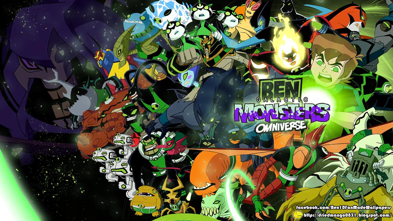 Dried Mango: Ben 10 Omniverse Galactic Monsters Wallpaper