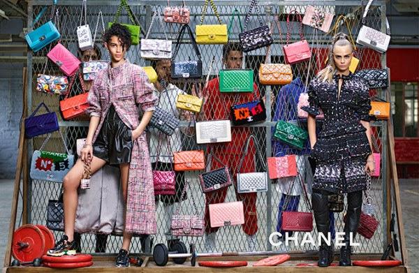 Chanel's Fall/Winter 2014 Ad Campaign