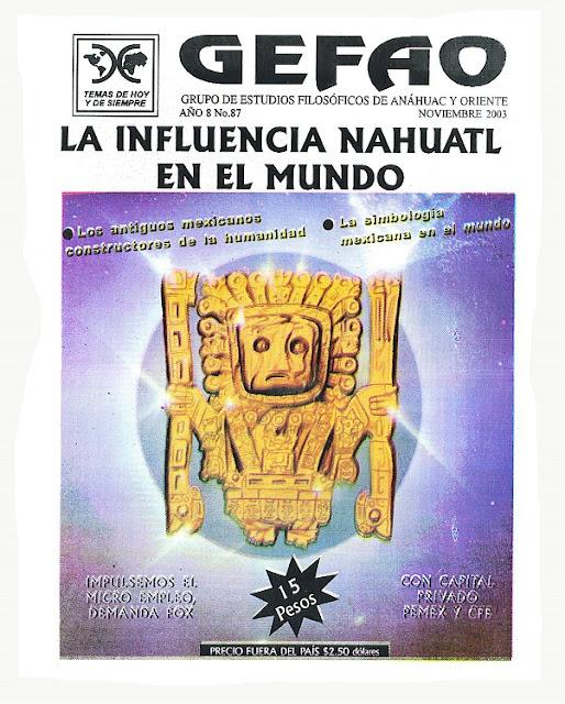 REVISTA GEFAO LA INFLUENCIA DEL NAHUATL EN EL MUNDO