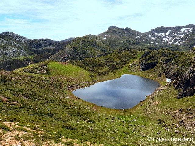 Lago de la Mina, Lagos de Saliencia, Parque Natural de Somiedo, Asturias