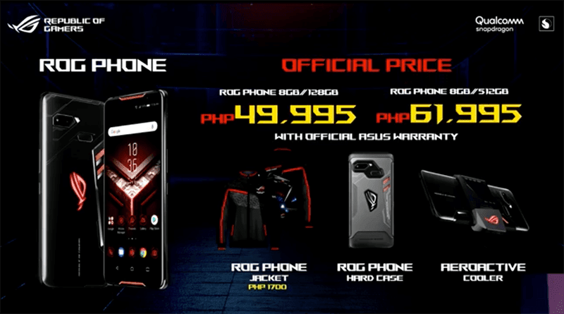 The ASUS ROG Phone starts at PHP 49,995!