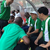 Coach Gernot Rohr and Yusuf Salisu present as 20 Super Eagles players train in Uyo (photos)