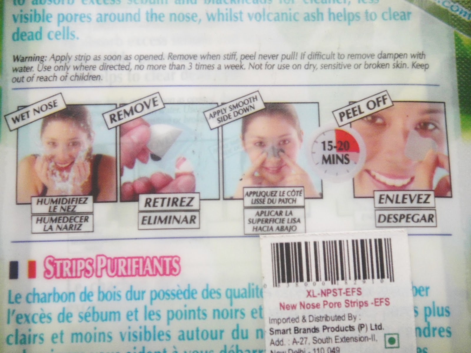 Montagne Jeunesse Pore Strips review