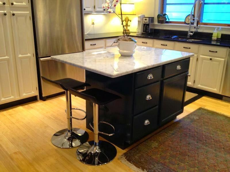 Kitchen Island With Seating Ikea Best Granite Countertops And Centerpieces Decor Ideas Images Small L Shaped Design White Cabinets Stainless