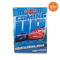 Alfacart Buku Gambar Cars Coming Up Fast Coloring Book L ANDHIMIND