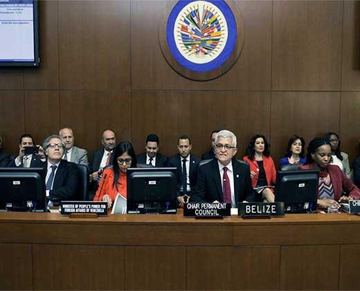 """20 países piden a la OEA definir hoja de ruta """"en el menor plazo posible"""" para apoyar a Venezuela"""