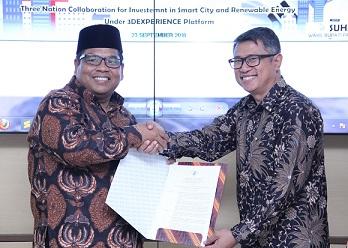 Bupati Padang Pariaman Serahkan SK Steering Commite ke Dassault Systemes dan PT PGRC