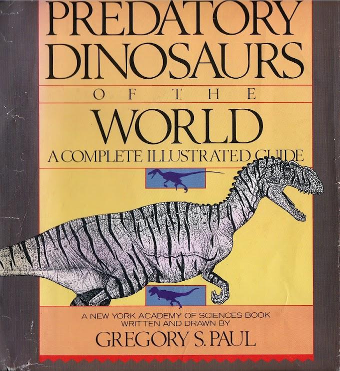 Vintage Dinosaur Art: Predatory Dinosaurs of the World - Part 1