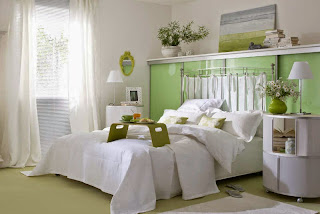 Habitación paredes relajantes