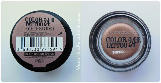 Sombra Color Tattoo 35 Maybelline