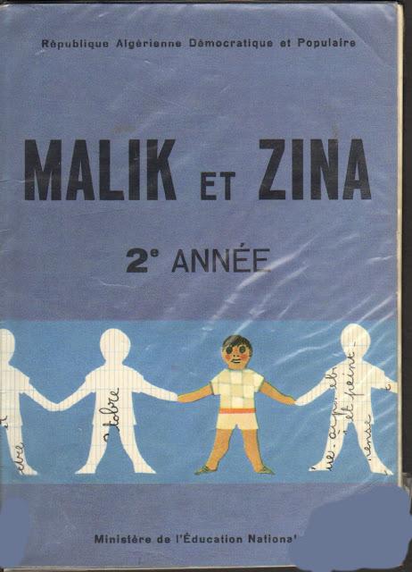 Manuels Anciens Malik Et Zina Lecture 2eme Annee Algerie
