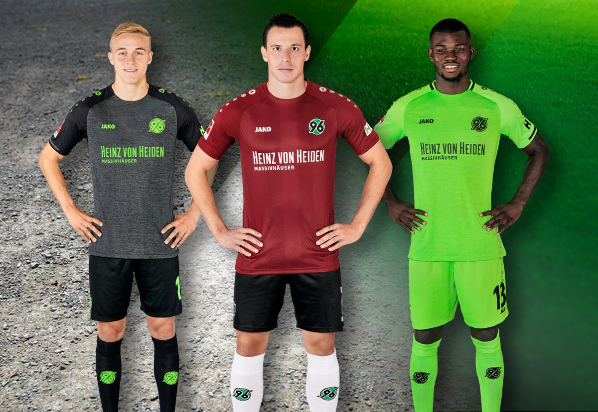 Image result for Hannover 96 2018/19 jersey