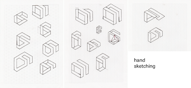 Corporate identity for David Szabo - hand sketching by Jules Muijsers