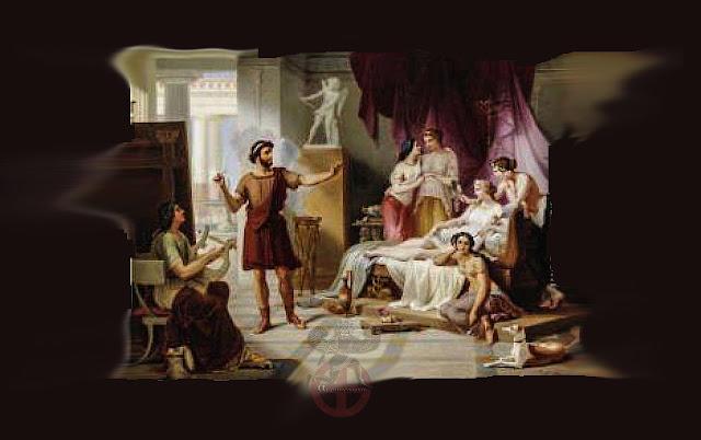 Απελλής, ο διασημότερος ζωγράφος της αρχαιότητας ,πρότυπο των μετέπειτα γενεών.