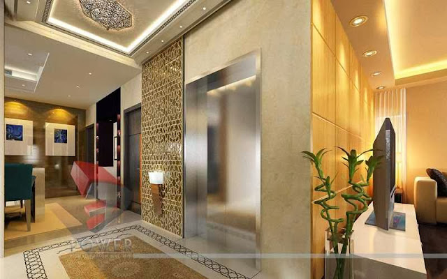 Traditional Look of  Lobby & Interior