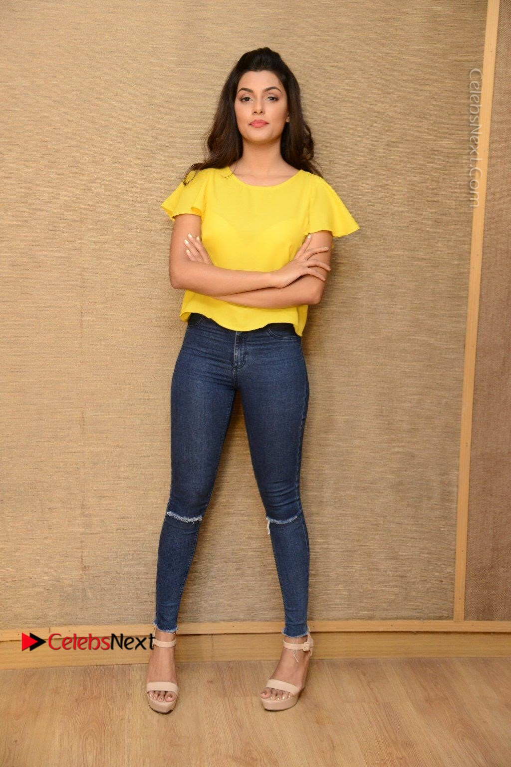 Actress Anisha Ambrose Latest Stills In Denim Jeans At Fashion Designer So Ladies Tailor Press Meet Com 0038 Anisha Ambrose Latest Stills In Denim Jeans At Fashion Designer S O Ladies Tailor
