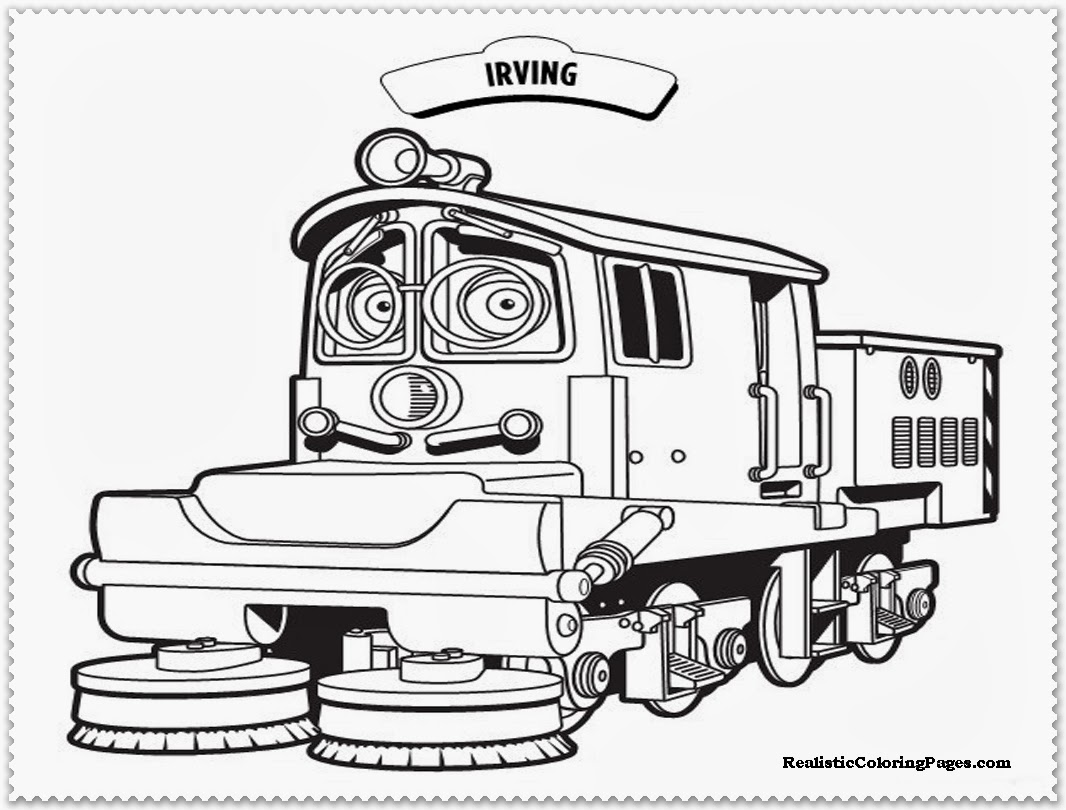Chuggington Coloring Pages Realistic
