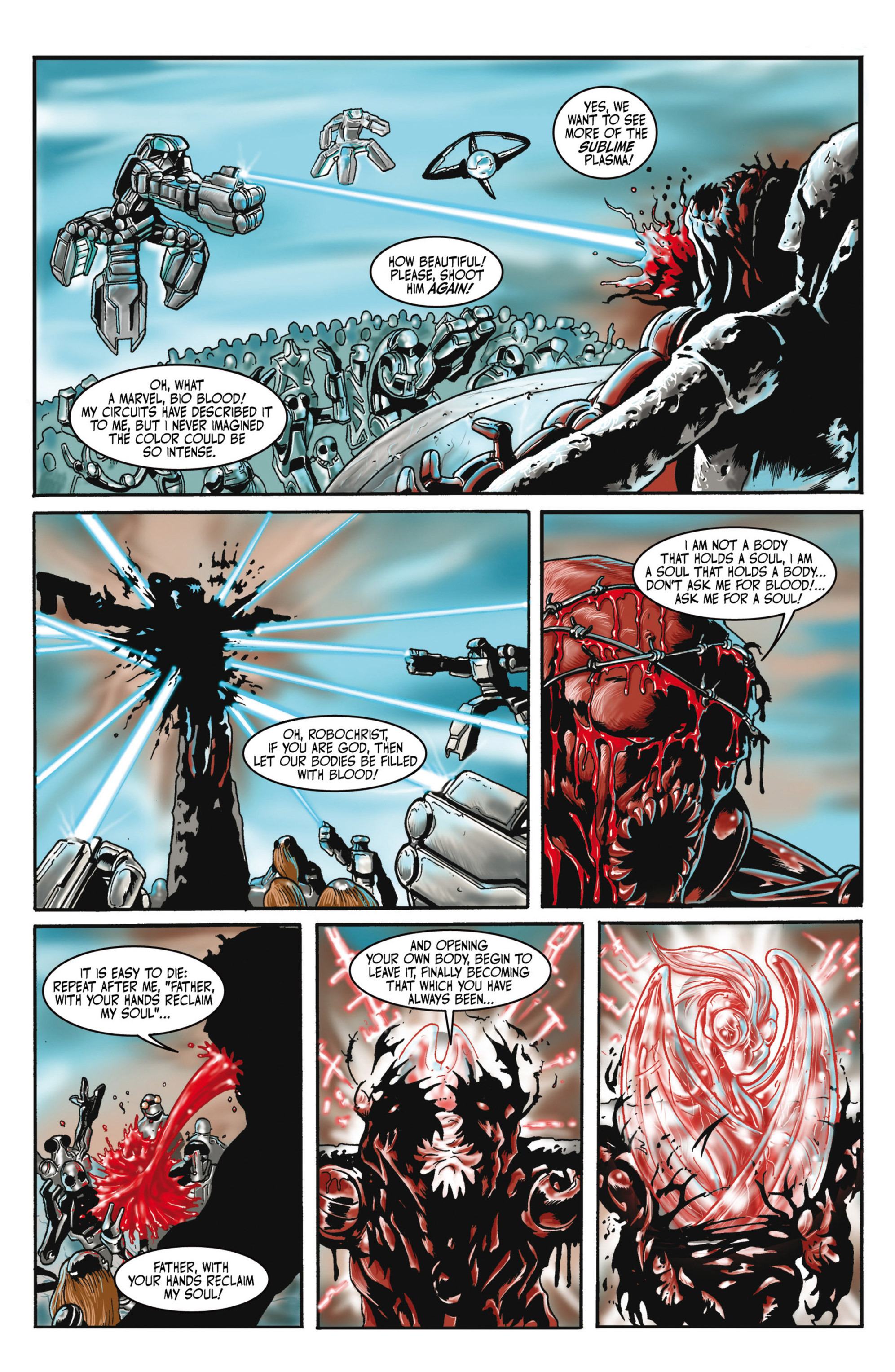 Read online Alejandro Jodorowsky's Screaming Planet comic -  Issue #2 - 15