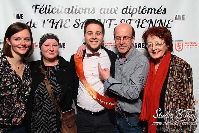 Photobooth à Saint-étienne pour IAE