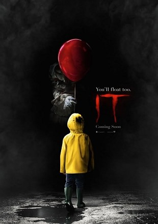 Poster Of IT 2017 BRRip 1080p Dual Audio In Hindi English ESub Download Full Hd Dubbed For Free At Worldfree4u