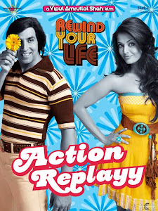 Poster Of Bollywood Movie Action Replayy (2010) 300MB Compressed Small Size Pc Movie Free Download worldfree4u.com