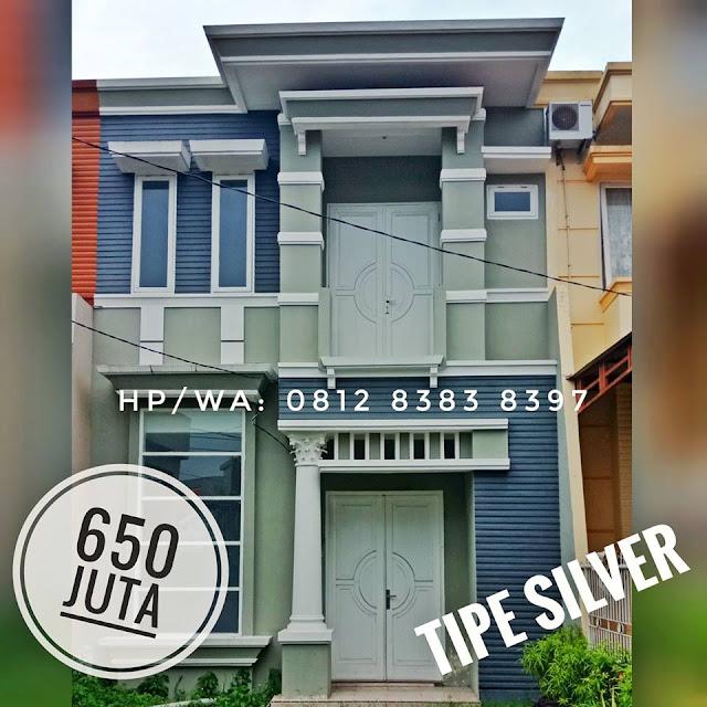 Jual Rumah 2 lantai Sudah Termasuk Ppn, BPHTB, IMB, SHM Di Setiabudi Raya Simpang Pemda Medan