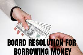 Board-Resolution-Borrowing-Money