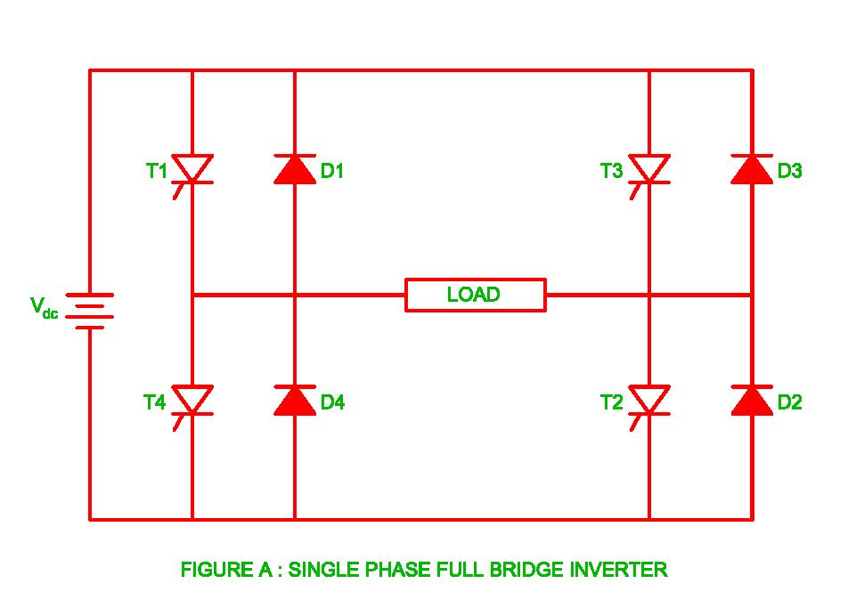 Single Phase Full Bridge Inverter | Electrical Revolution