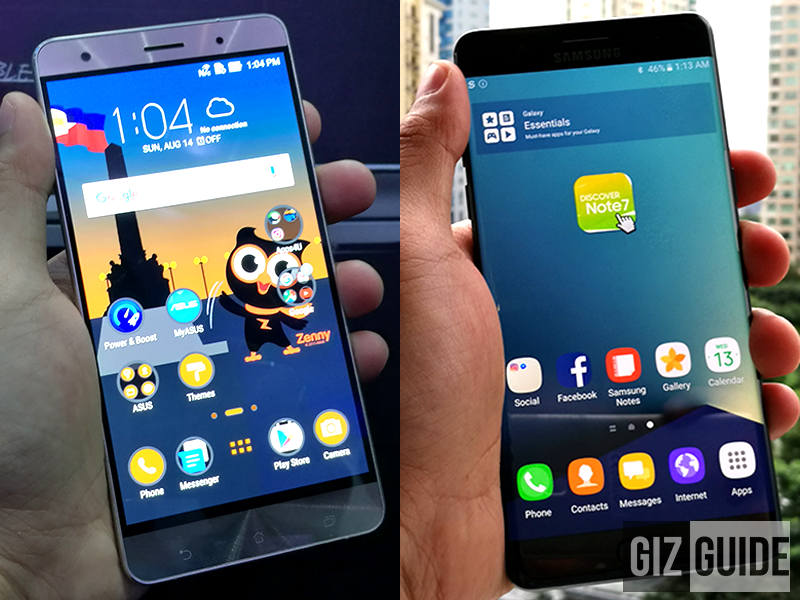 Asus ZenFone 3 Deluxe Special Edition vs Samsung Galaxy Note 7!