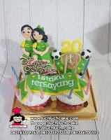 Cupcake Ulang Tahun Persebaya