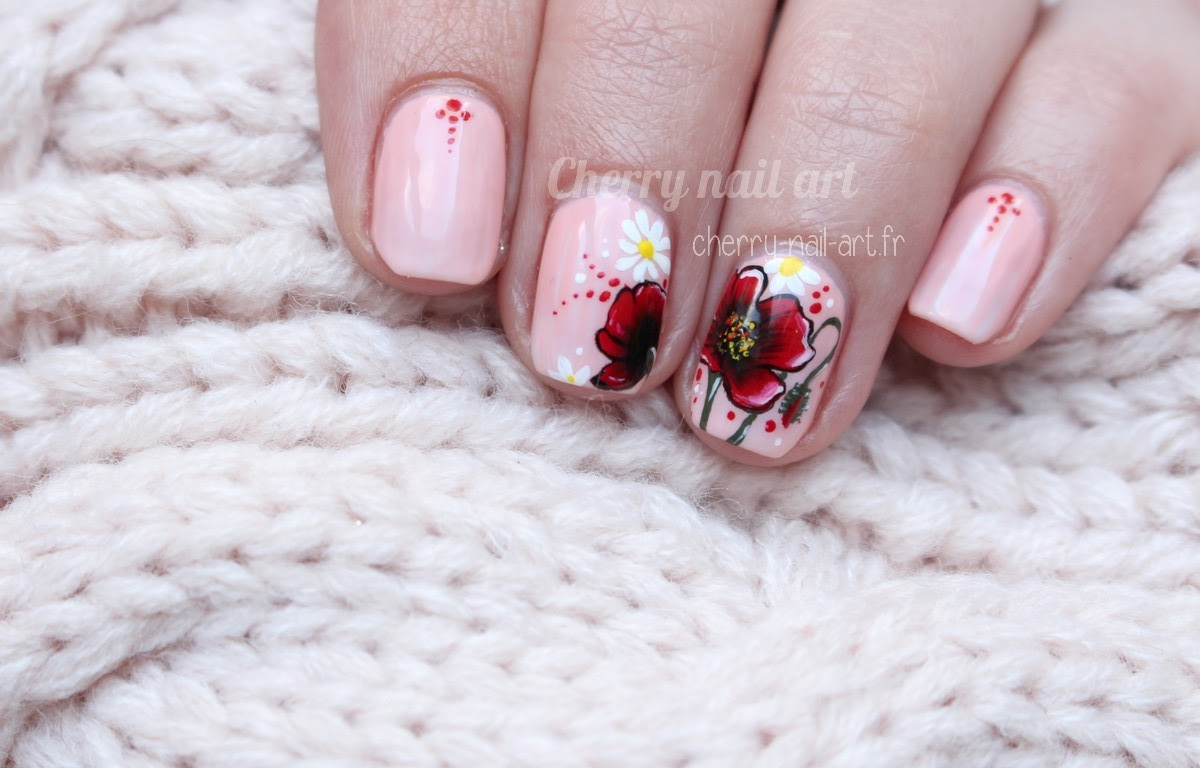 nail-art-coquelicot-one-stroke