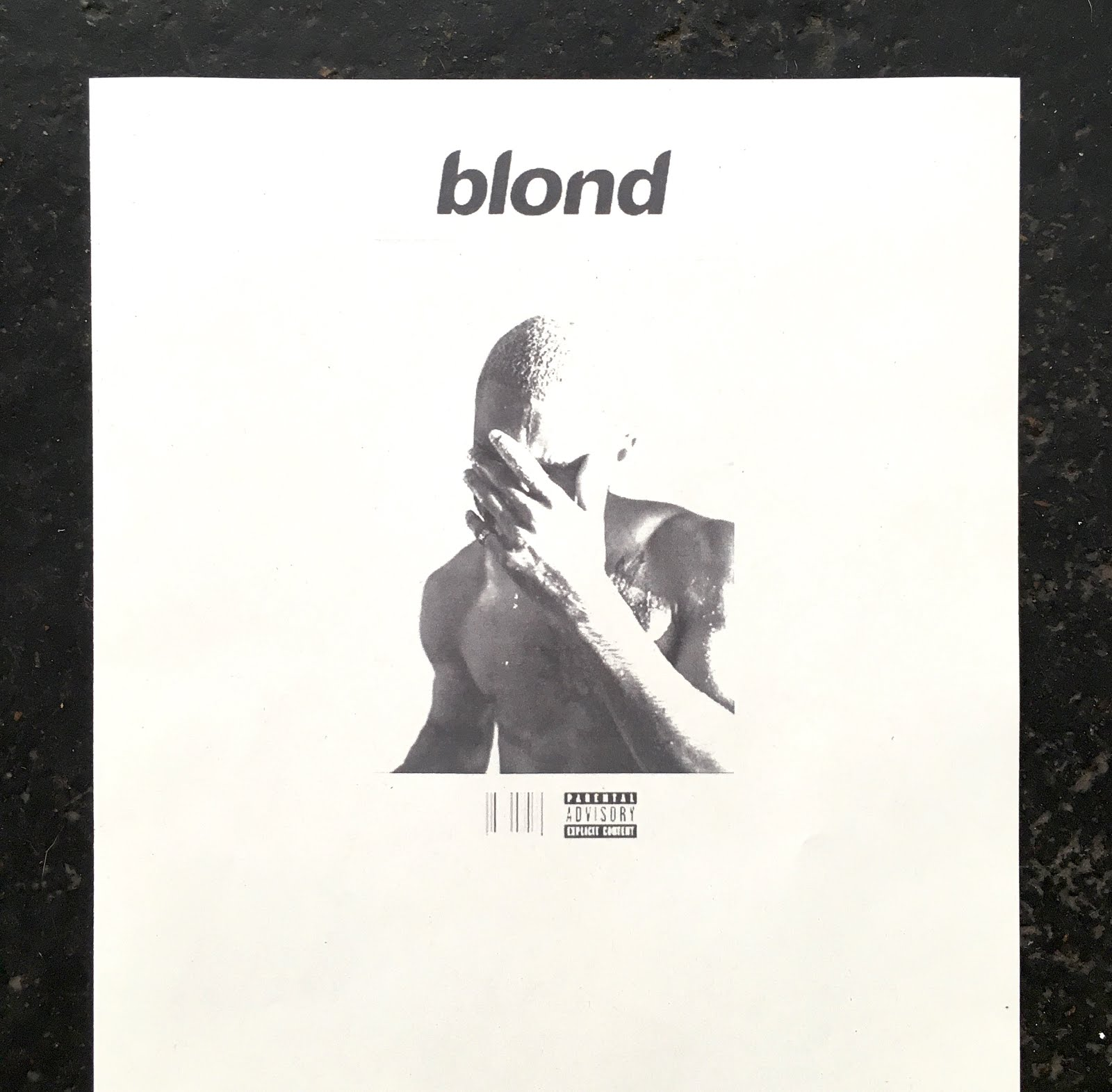 Frank Ocean Blond - Photo: dingoflamingo.com