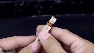 tutorial cara membuat mainan meriam mini dari korek api