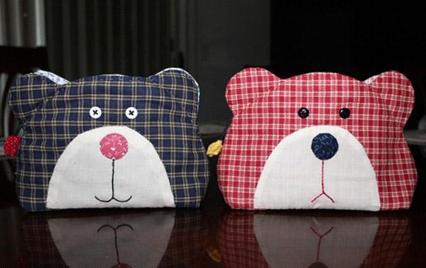 Teddy Bear Quilt Bag Tutorial ~ DIY Tutorial Ideas!