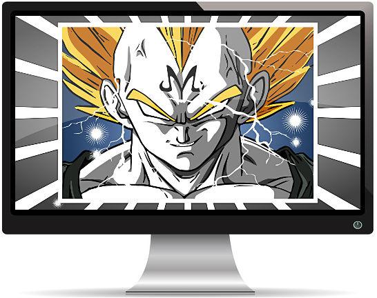 Dragon Ball Super Saiyan Éclairs - Fond d'écran en Full HD
