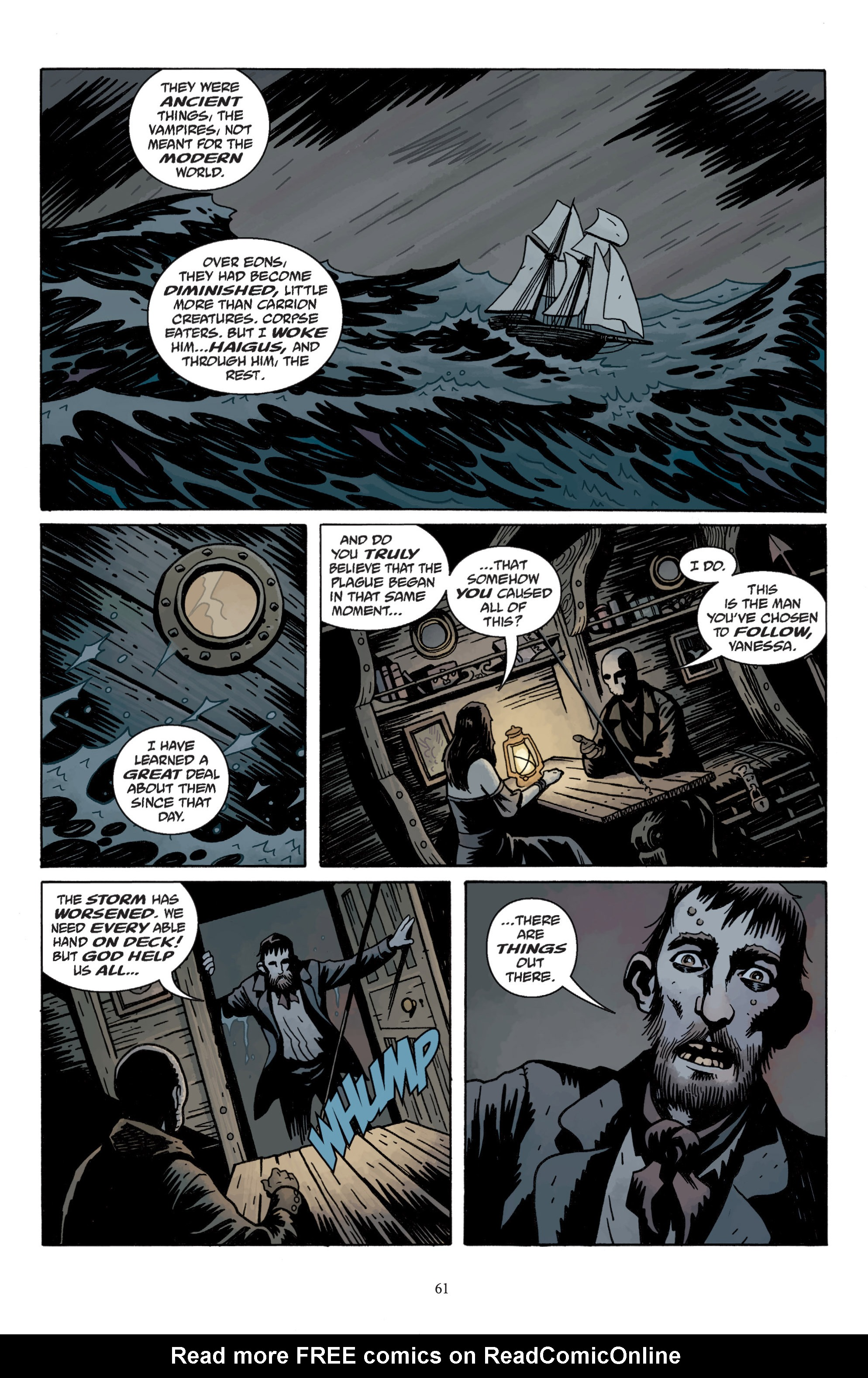 Read online Baltimore: The Plague Ships comic -  Issue # TPB - 63