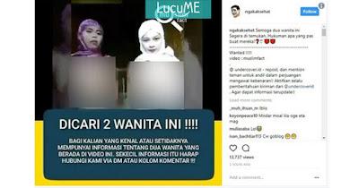 Dua Wanita Ini Jadi 'Buronan' Umat Muslim Akibat Video Pelecehan