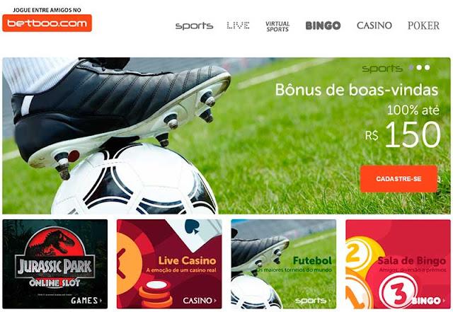 Betboo.com - Um dos melhores sites de apostas esportivas