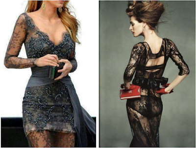 vestidos de renda para festa