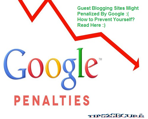 google might penalize for spammy guest blogging