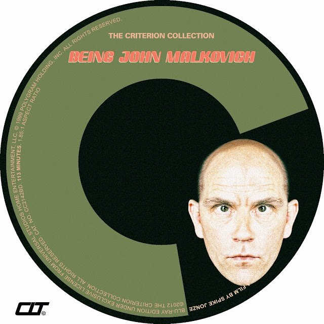 Being John Malkovich Bluray Label
