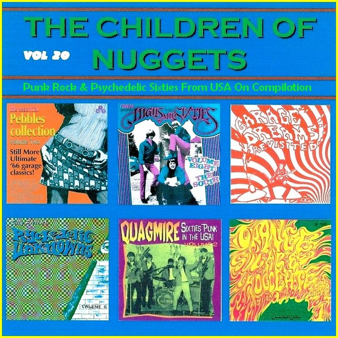 Nuggets Blog: SIXTIES BEAT: The Children Of Nuggets Vol 20